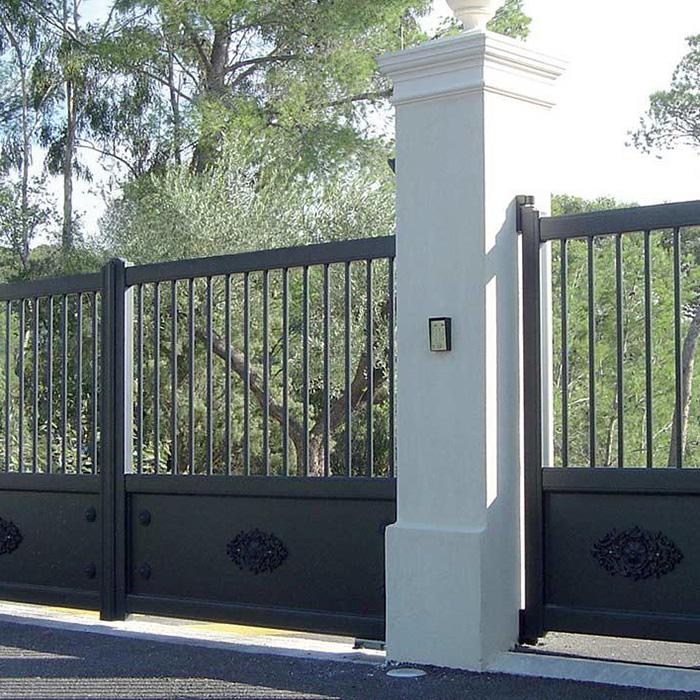 Vos portillons et portails alu avec AZ Menuiserie.